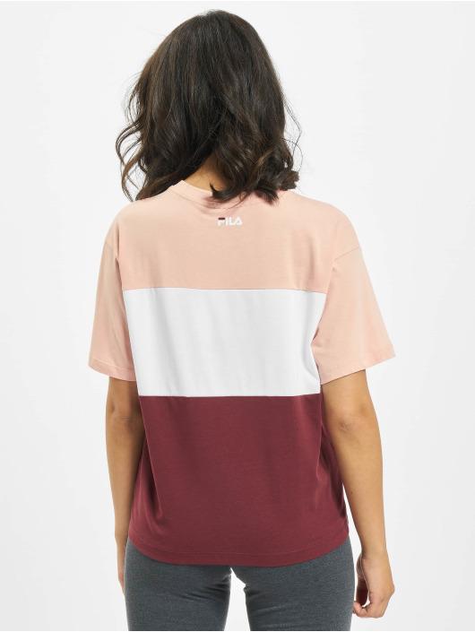 FILA T-Shirty Bianco Allison czerwony