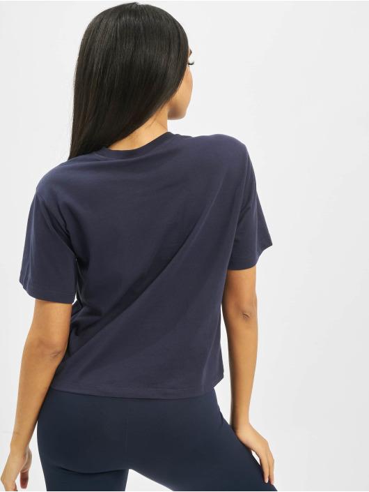 FILA T-Shirty Line Cropped Vivika niebieski