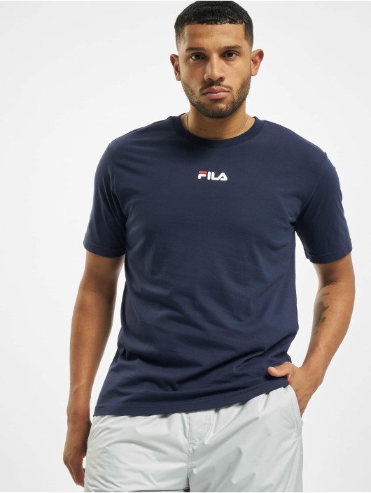FILA T-Shirty Bianco Sayer niebieski