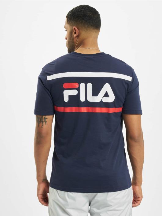 FILA T-skjorter Bianco Sayer blå