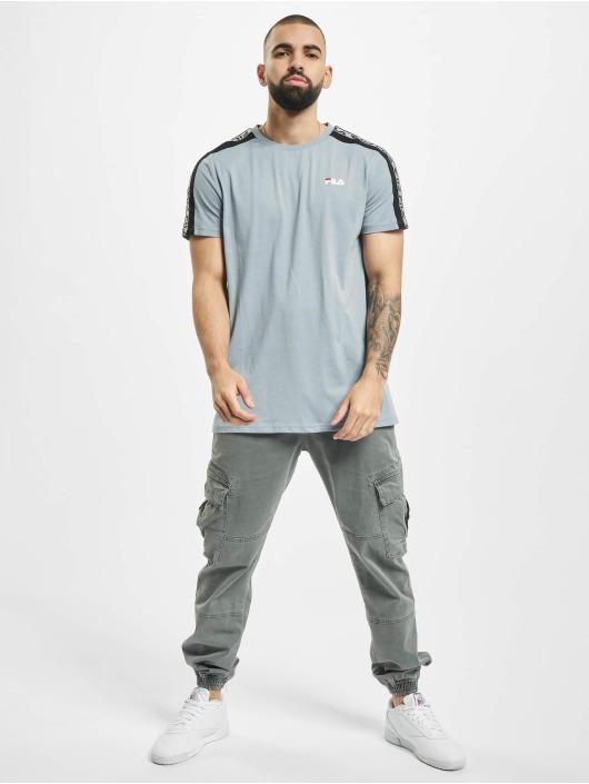 FILA T-skjorter Bianco Tavorian Taped blå