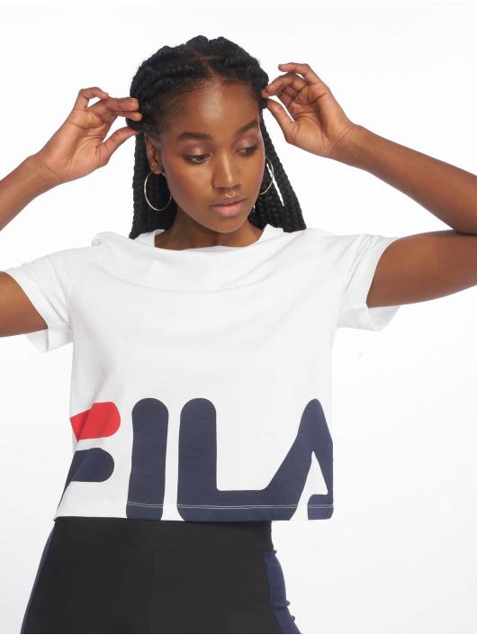 FILA T-skjorter Early Croped hvit