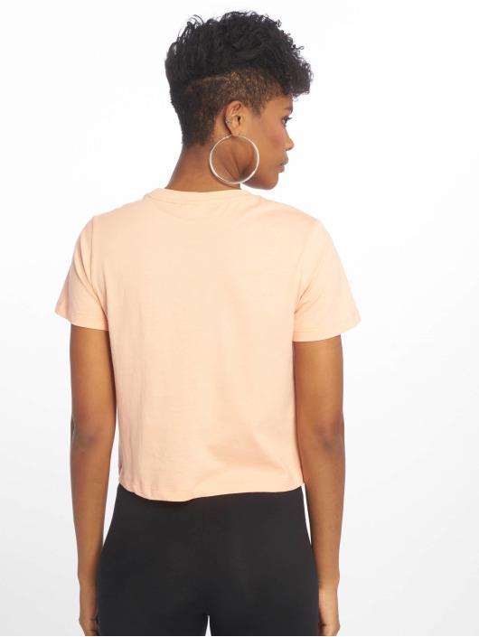 FILA T-skjorter Line Early Croped oransje
