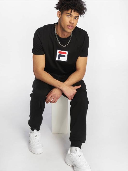 FILA T-skjorter Urban Line Print Evan svart