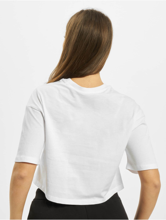 FILA Trika Magola Oversized Cropped bílý