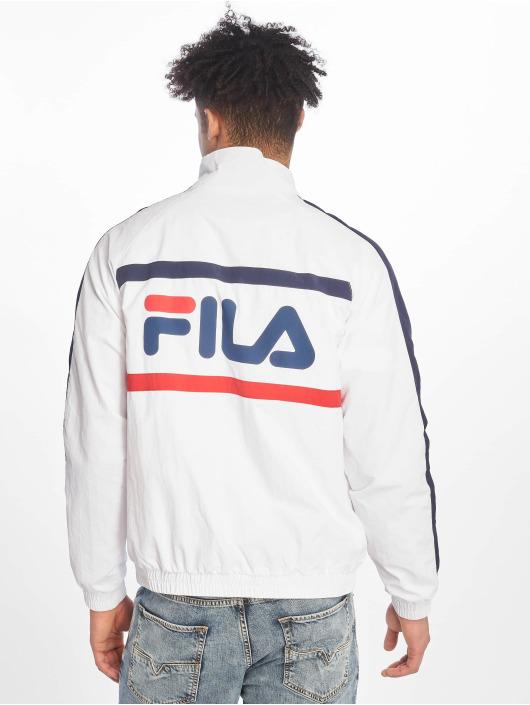 FILA Veste mi-saison légère Line Jona Woven Half-Zip blanc