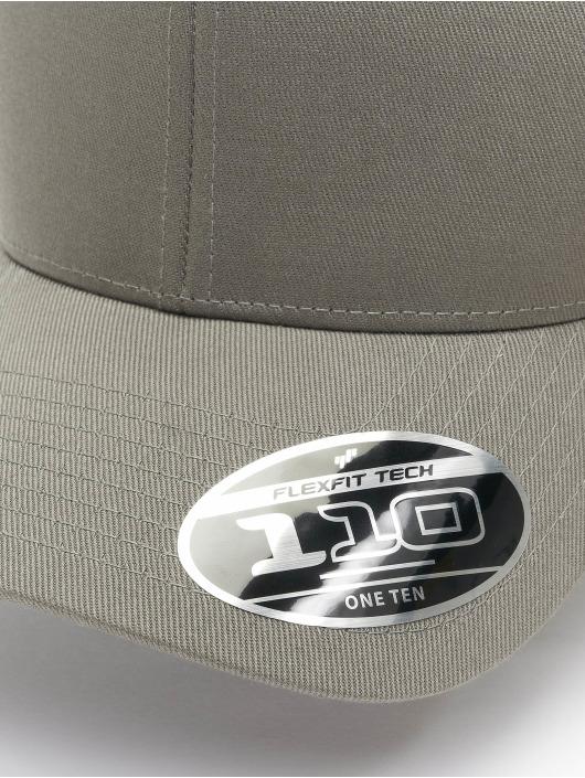 Flexfit Кепка с застёжкой Wooly Combed Adjustable серый