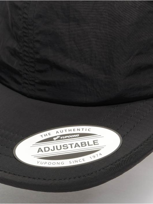 Flexfit Кепка с застёжкой Adjustable Nylon черный