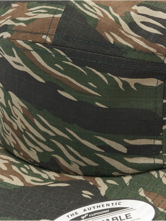 Flexfit 5 Panel Cap Classic Jockey camouflage