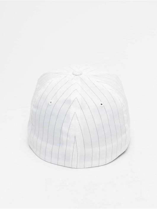 Flexfit Casquette Flex Fitted Pinstripe blanc