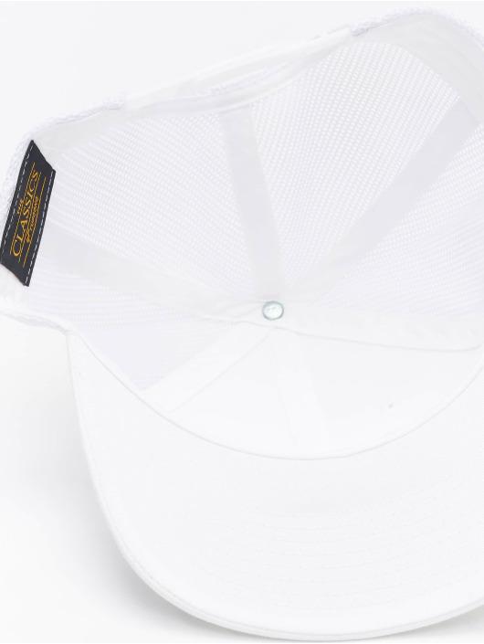 Flexfit Casquette Flex Fitted Retro blanc