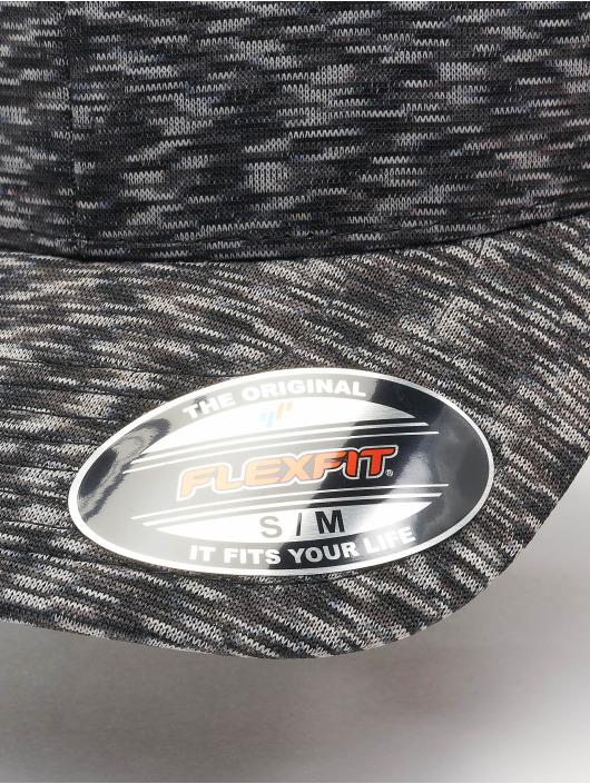 Flexfit Casquette Flex Fitted Stripes Melange gris