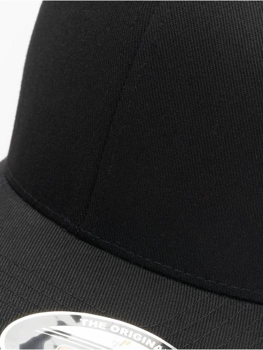 Flexfit Casquette Flex Fitted Wooly Combed noir