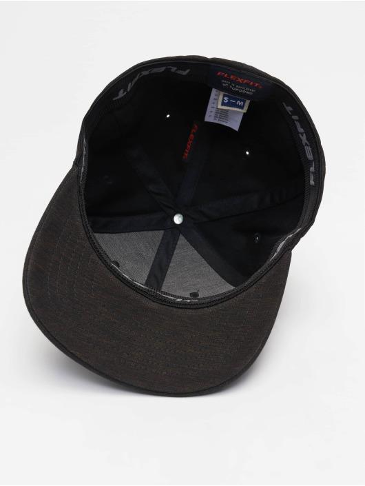 Natural Flex 635204 Noir Fitted Casquette Melange Flexfit nk8PwO0