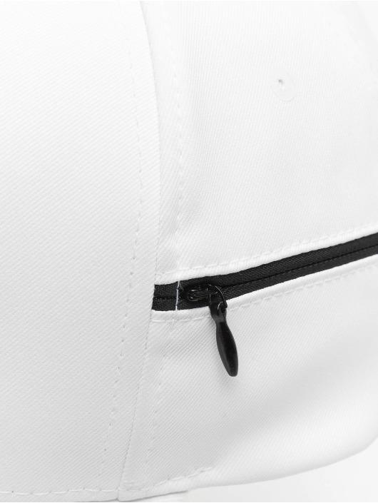 Flexfit Casquette Snapback & Strapback 110 Pocket blanc