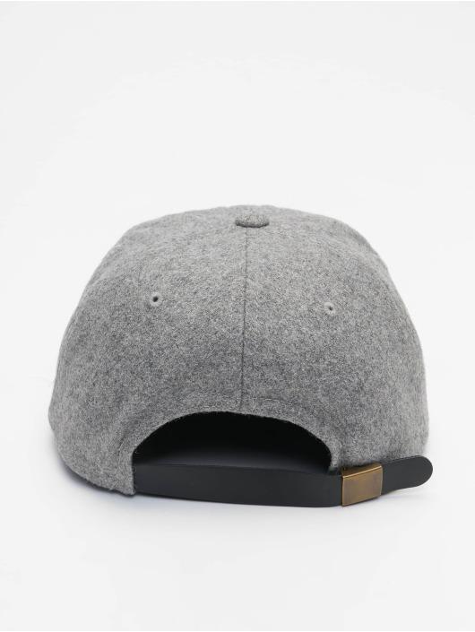 Flexfit Casquette Snapback & Strapback Melton gris