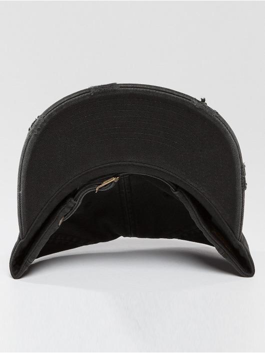 Flexfit Casquette Snapback & Strapback Low Profile Destroyed noir