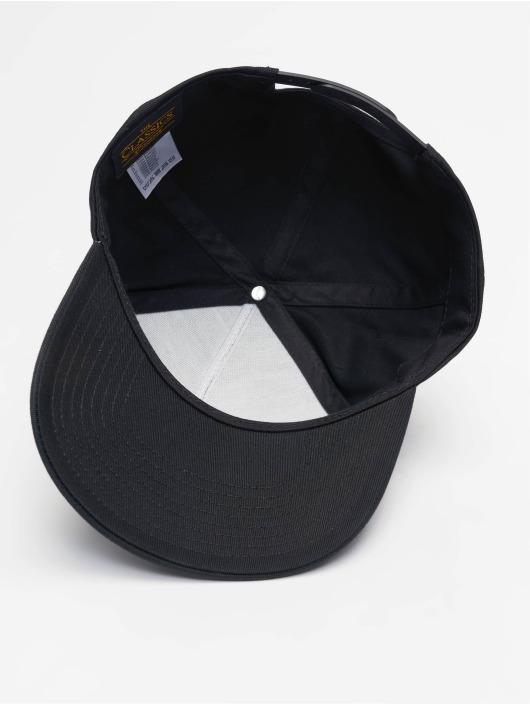 Curved Snapbackamp; Classic Casquette panel 635224 Flexfit Noir 5 Strapback trCdshQx