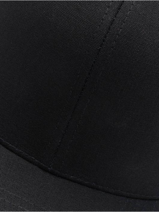 Noir Metal Strapback panel 635252 Snapbackamp; Flexfit 6 Casquette Curved yN8n0Omwv