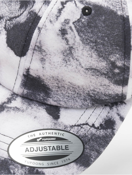 Flexfit Casquette Snapback & Strapback Low Profile Batic Dye noir