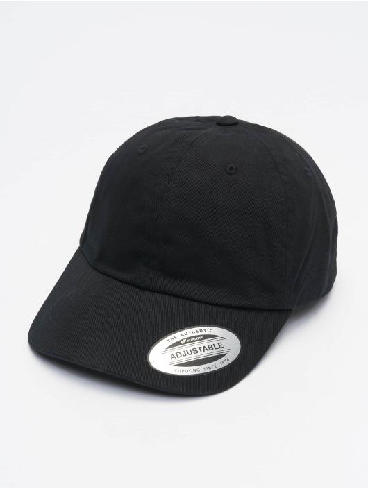 Flexfit Casquette Snapback & Strapback Ecowash Dad noir