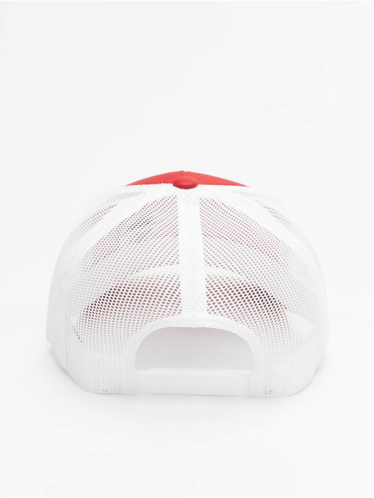 Flexfit Casquette Trucker mesh 2-Tone Retro rouge