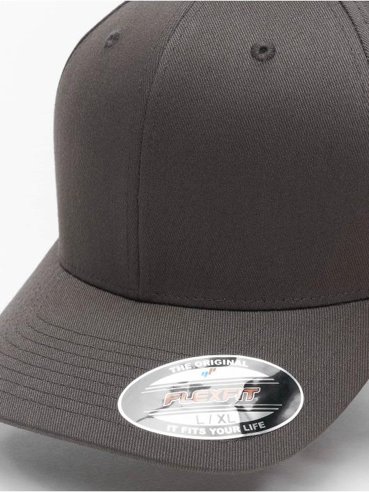 Flexfit Flexfitted Cap Wooly Combed Flexfitted Cap šedá