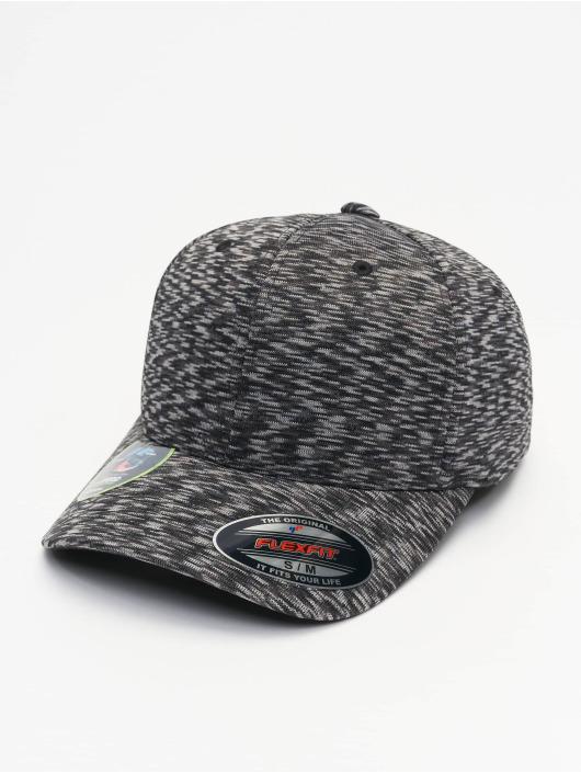 Flexfit Flexfitted Cap Stripes Melange šedá