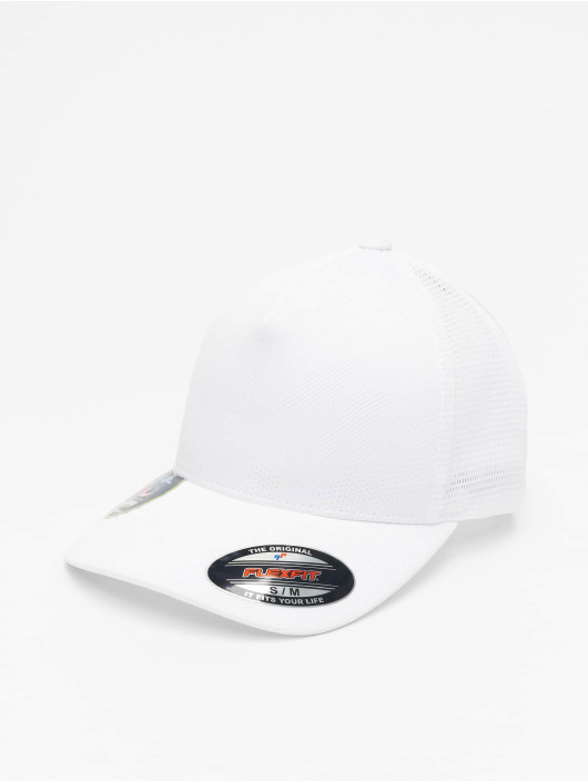 Flexfit Flexfitted Cap Jaquard Camo bílý