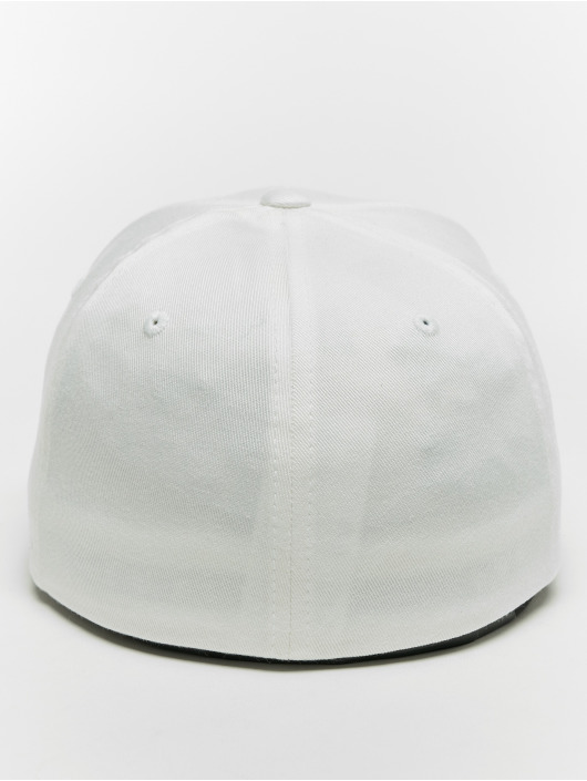 Flexfit Flexfitted Cap Organic Cotton bialy