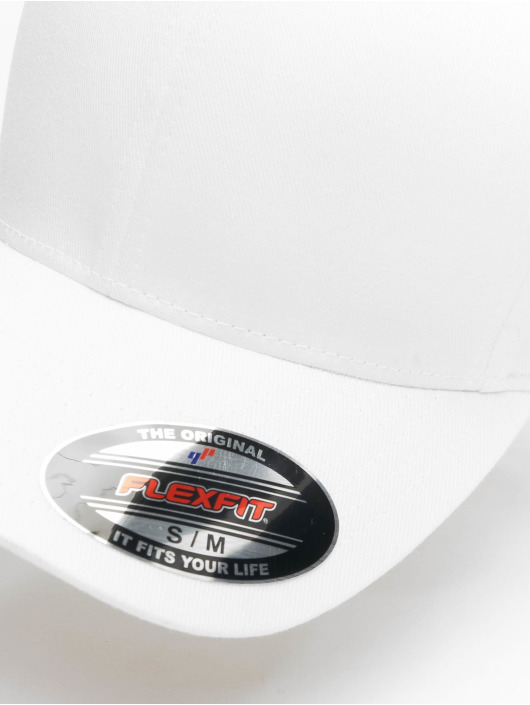 Flexfit Flexfitted Cap Wooly Combed biela