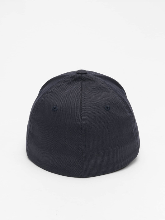 Flexfit Flexfitted Cap Wooly Combed Flexfitted blau