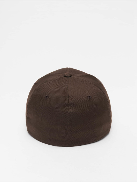 Flexfit Flexfitted Cap Wooly Combed braun