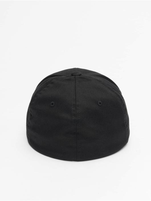 Flexfit Flexfitted Cap Wooly Combed czarny