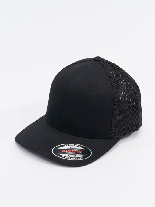 Flexfit Flexfitted Cap Mesh Cotton Twill czarny