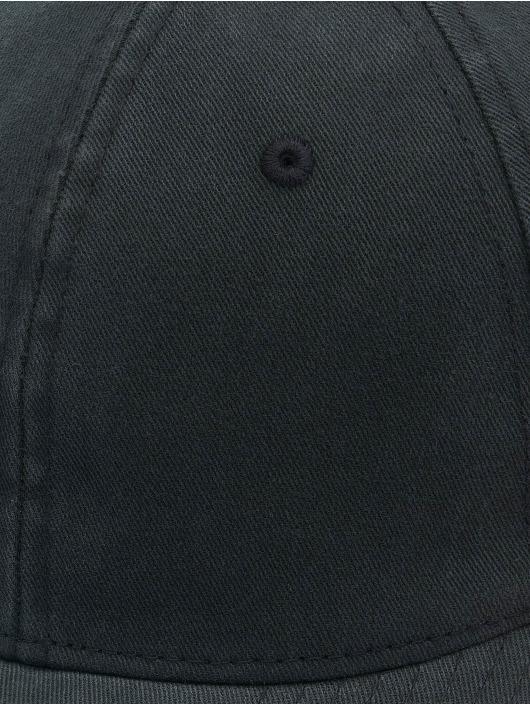 Flexfit Flexfitted Cap Garment Washed Cotton Dat czarny