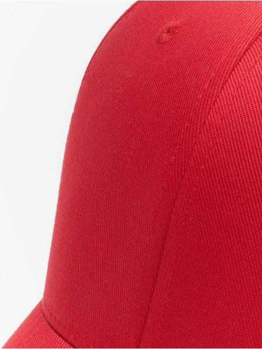 Flexfit Flexfitted Cap Wooly Combed czerwony