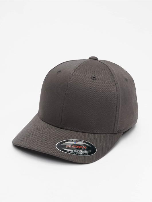 Flexfit Flexfitted Cap Wooly Combed Flexfitted Cap grau