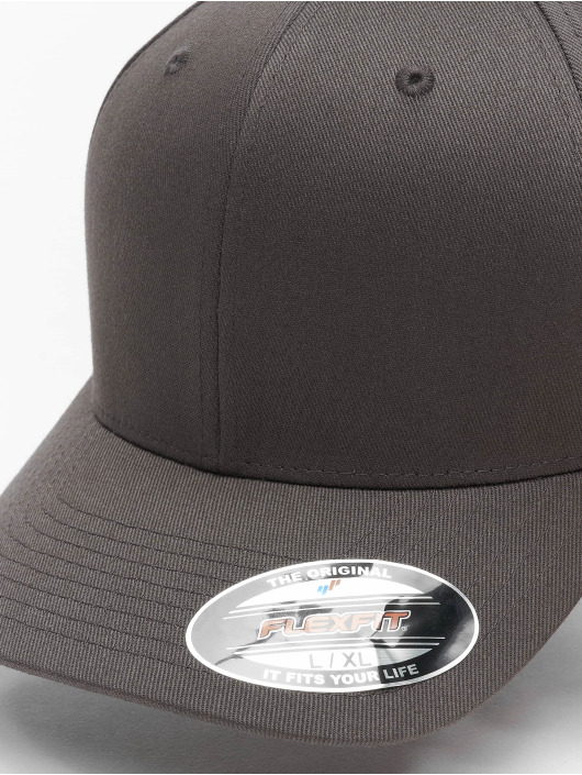 Flexfit Flexfitted Cap Wooly Combed Flexfitted Cap grey
