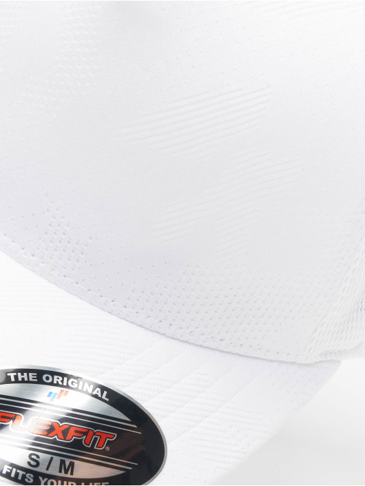 Flexfit Flexfitted Cap Jaquard Camo hvid