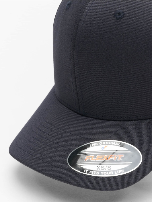 Flexfit Flexfitted Cap Wooly Combed Flexfitted modrá