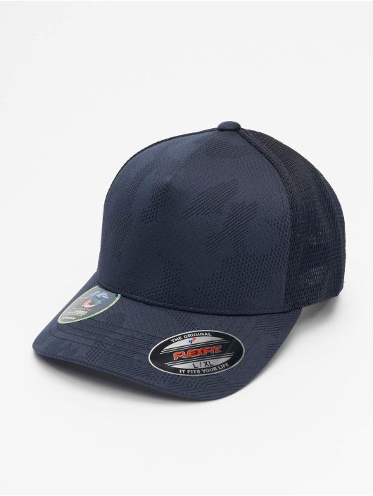 Flexfit Flexfitted Cap Jaquard Camo modrý
