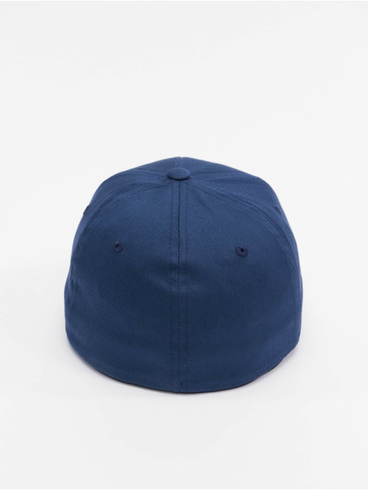 Flexfit Flexfitted Cap Organic Cotton niebieski