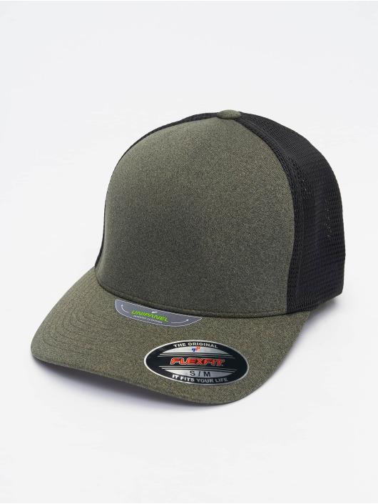 Flexfit Flexfitted Cap Unipanel olivová