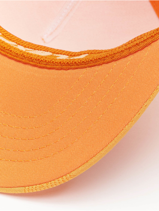 Flexfit Flexfitted Cap Jaquard Camo pomaranczowy
