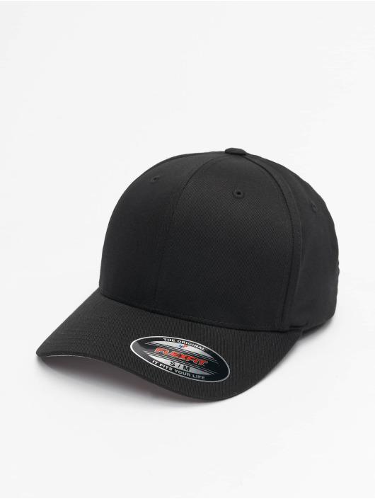 Flexfit Flexfitted Cap Wooly Combed schwarz