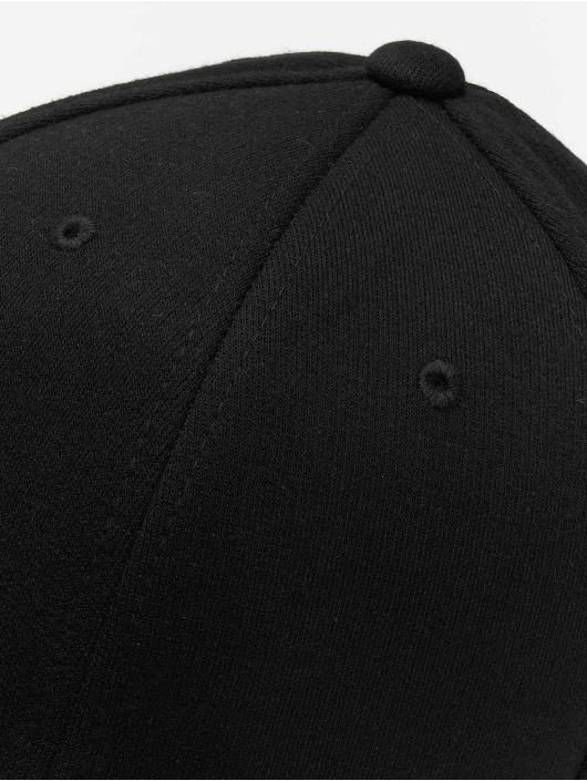 Flexfit Flexfitted Cap Double Jersey schwarz