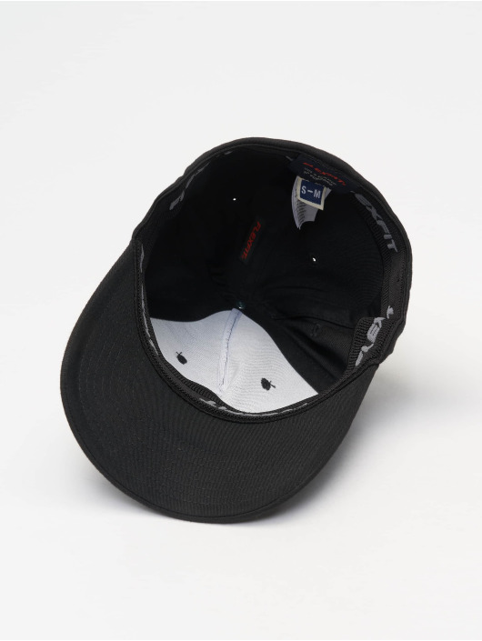 Flexfit Flexfitted Cap 5 Panel schwarz