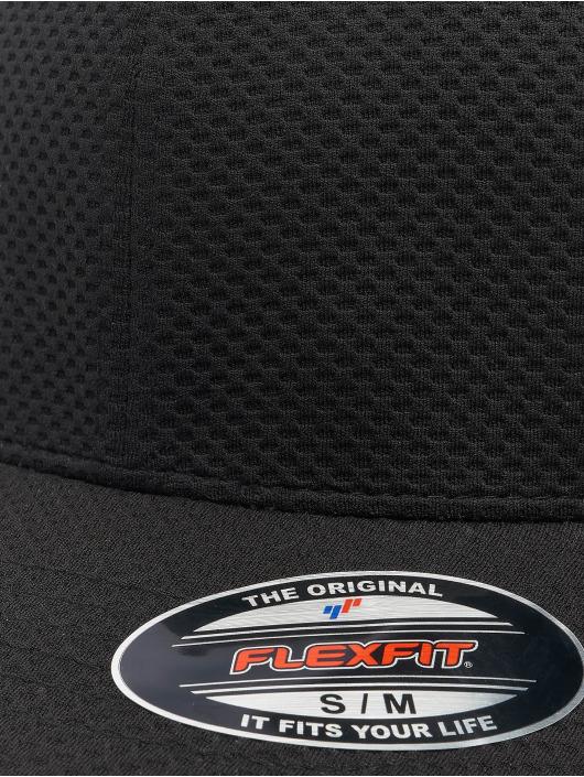 Flexfit Flexfitted Cap 3D Hexagon schwarz