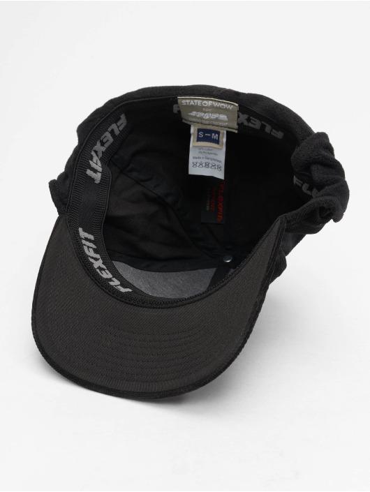 Flexfit Flexfitted Cap Roy Earflap schwarz